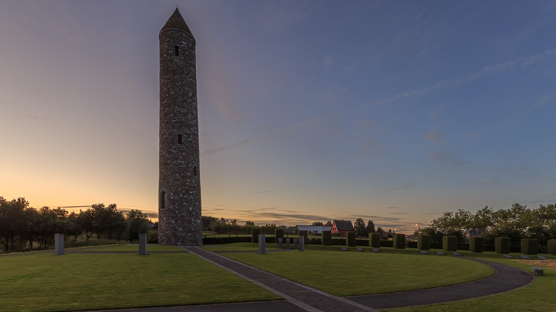 Island of Ireland Peace Park in Flanders Fields